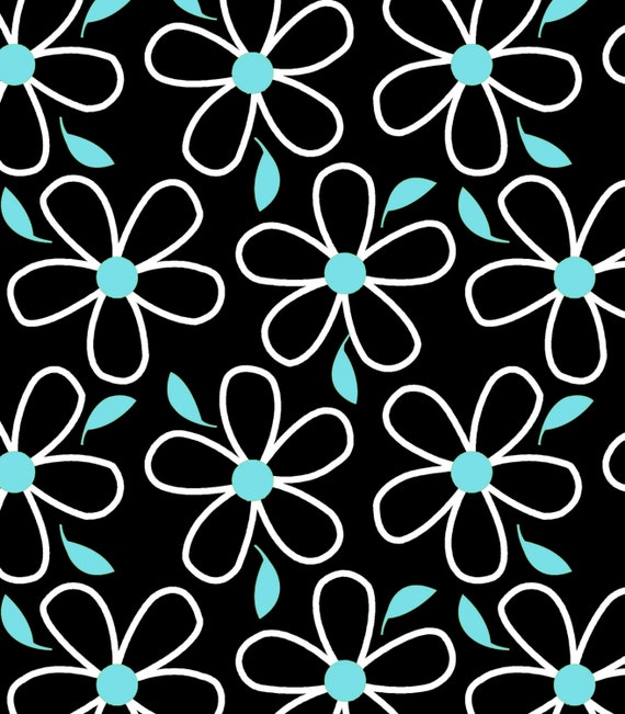 Black Flower- Quilt Camp Collection
