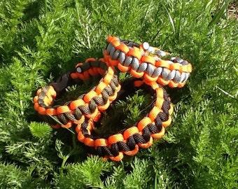 Paracord Bicolore Reversible bracelet