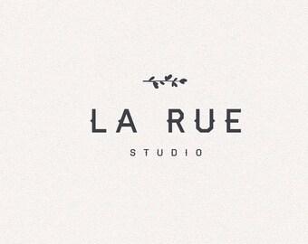 Black Logo   Logo Design, Graphic Design, Custom Logo, Photography Logo, Logo for Small Business, Boutique Logo