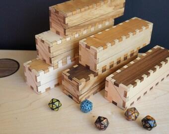 Hardwood Dice Box