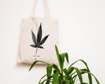 Market bag — Cannabis ruderalis