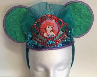 Ariel Princess Minnie Ears
