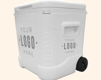60 Quart Igloo Rolling Custom Cooler