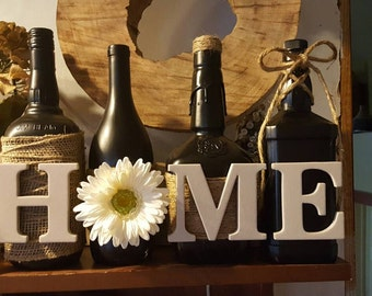 Home wine bottle set