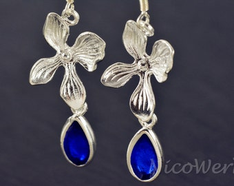 Silver earrings women's earrings jewelry earrings 925 gift SOR127