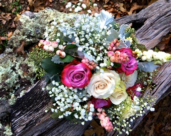 Romantic Pink Flower Arrangement
