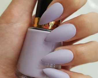 Matte Lilac False Nails