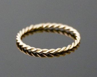 ROTATING ring 14 k gold