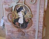 Miss Lady Fay in Paris Junk Journal
