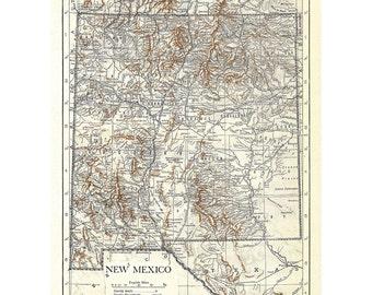 Alamogordo map Etsy