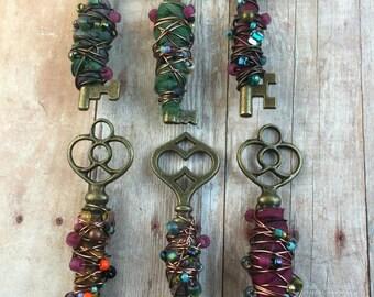 Dressed up keys