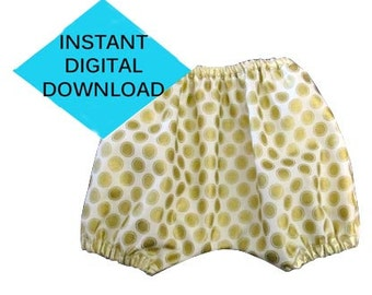 Baby Diaper Cover Sewing Pattern- PDF tutorial