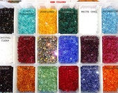 US Shipper 6MM Xilion 5328 Swarovski Crystal Bicone Beads, Authorized Reseller for Swarovski Elements, Mix your colors