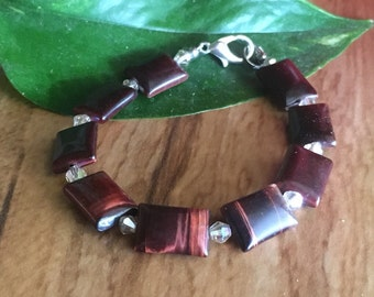 Red Tigereye Bracelet