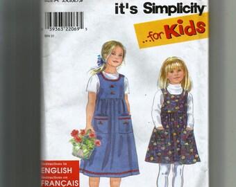 Simplicity Girls' Jumper Pattern 8340