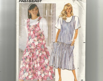Butterick Misses' Jumper and Top Pattern 3370