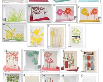 Ilee everyday notecards Variety Pack