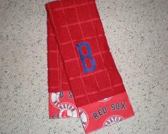 Boston Red Sox Microfiber Kitchen Towel