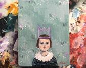 Oil painting portrait - Kirsten - Original art
