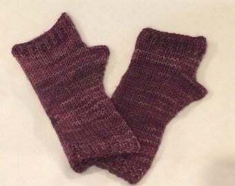 Hand Knit Lightweight Fingerless Gloves