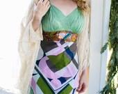 Rubypearl Green Paisley Dreams Dress