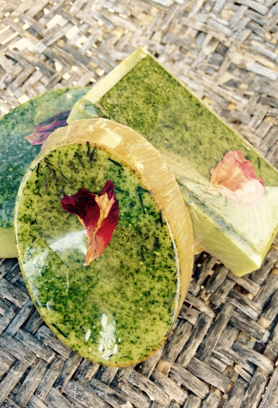 Green Tea Soap Facial MIRACULOUS Face Soap with concentrated green tea matcha