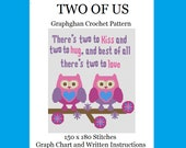 Two of Us - Graphghan Crochet Pattern