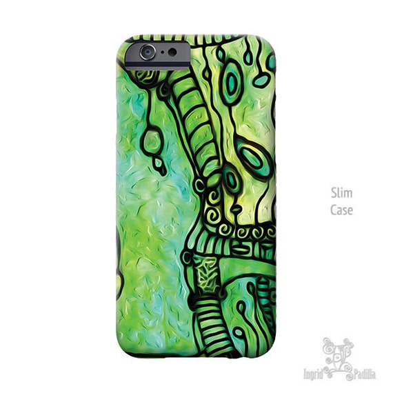 Funky, iPhone 8 plus case, iPhone 6s case, turquoise iPhone case,  Art, iphone 8 case, iPhone case, Galaxy S6 Case, Galaxy s7 case