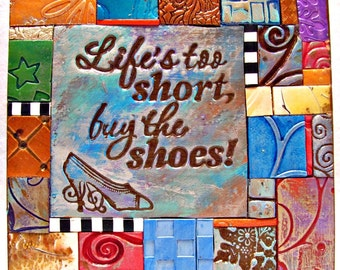 Buy the Shoes Polymer Clay Tile Mini-Mosiac MM40030-15