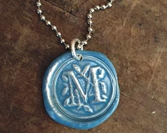Custom Initial Necklace Personalized Jewelry