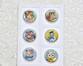 Kitty Flair Buttons Set 2