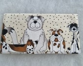Checkbook Cover - Pound Hounds1