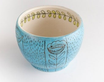 Trees - Cup - Turquoise