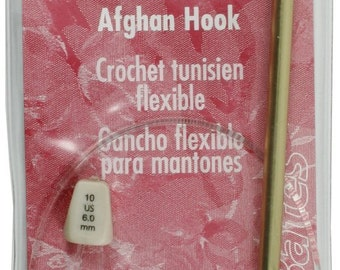 Susan Bates 22 inch Flexible Afghan Hook