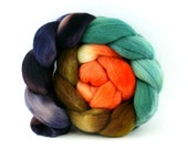 Sale - Polwarth - 3018 - Hand Dyed Fiber for Spinning