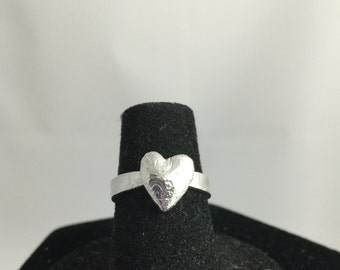 Petite heart ring size 5 1/2