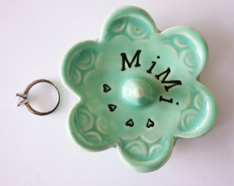 Mimi ring dish - Gift for Mimi - Keepsake Ring Dish -  Gift box included