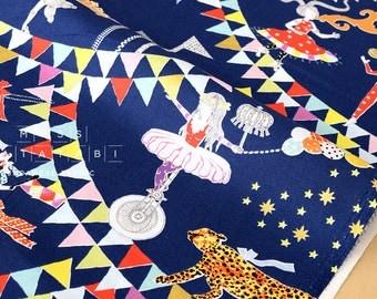 Japanese Fabric Circus of Wonders - C - 50cm