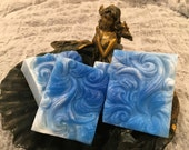 Blue Moon Wave Vegan Soap Mediterranean Garden Spa Scented