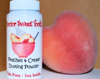 Peaches and Cream Dusting Powder (Talc Free)