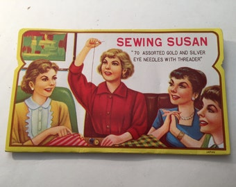 Vintage Sewing Susan Needle Book