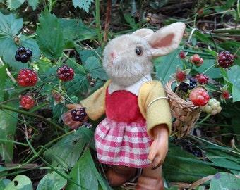 Mini Photographic Art Print, BlackBerry Bunny
