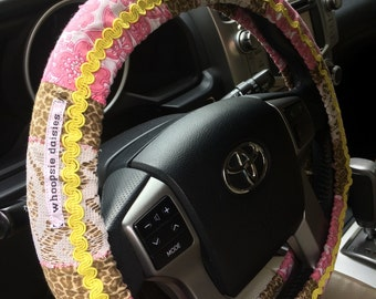 Hippie Chic Non-Slip Steering Wheel Cover