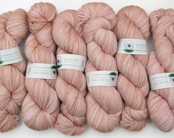 Superwash Merino Wool Sock Yarn in Blush by Blarney Yarn