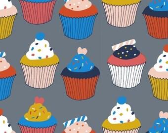 Julia Rothman FABRIC - Bake - Cupcakes