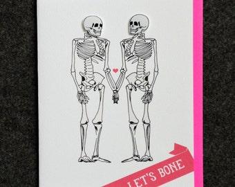Let's Bone - Skeletons in Love