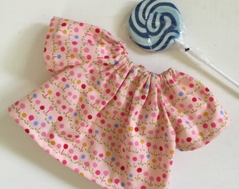 Lollipop outfit,  Waldorf doll clothes, doll clothes