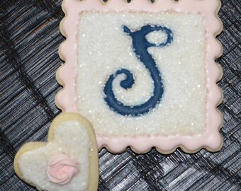 WEDDING shower, engagement party, rehearsal dinner THEME decorated cookies CUSTOM made for you!