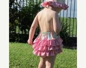 30% OFF Baby Bubble Romper PDF Pattern Ruffled Sunsuit Sewing Pattern PDF