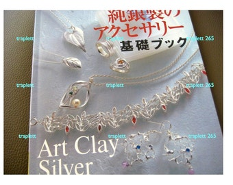 Japanese Craft Pattern Book  Jewelry Art Clay Silver